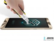 تیغ کشیدن روی محافظ صفحه نمایش شیشه ای نیلکین Asus Zenfone 3 Deluxe(ZS570KL) H Anti-Explosion Glas