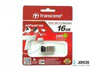 فلش مموری ترنسند Transcend JetFlash JF880 USB 3.0 OTG Flash Drive 16GB