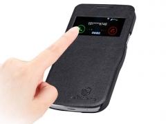 کیف چرمی نیلکین سامسونگ Nillkin Leather Case Samsung Galaxy S4 Mini