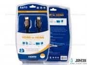 کابل اچ دی ام آی بافو BAFO HDMI Round Cable with Metal Shell+Mesh 3m