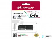 فلش مموری ترنسند Transcend JetFlash JF320 USB 2.0 Flash Drive 64GB