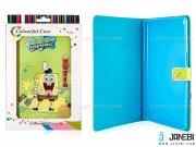 کیف تبلت ایسوس طرح باب اسفنجی سبز Colourful Case Asus ZenPad 8.0 Z380C SpongeBob