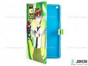 کیف تبلت ایسوس طرح بن تن Colourful Case Asus ZenPad 8.0 Z380C Ben 10