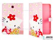 کیف تبلت سامسونگ طرح کیتی گلدار Colourful Case Samsung Galaxy Tab S2 8.0 Kitty