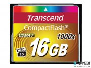 کارت حافظه ترنسند Transcend 16GB Premium 1000X Compact Flash Card