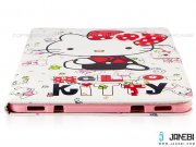 کیف تبلت سامسونگ طرح کیتی سفید Colourful Case Samsung Galaxy Tab S2 9.7 Kitty
