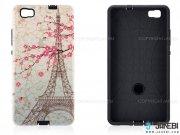 قاب محافظ هواوی طرح برج ایفل و گل Mobile Case Huawei P8 Lite