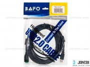 کابل تبدیل یو اس بی 2.0 بافو BAFO FC USB 2.0 Type-A Male to Type-A Female Cable 5m