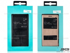 کیف چرمی هواوی Huawei Honor 7 Dual Window Flip Cover
