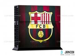 کاوراسکین کنسول بازی پلی استیشن 4 PS4 Skin FC Barcelona