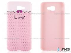 محافظ ژله ای سامسونگ طرح عشق Mobile Case Samsung J5 Prime