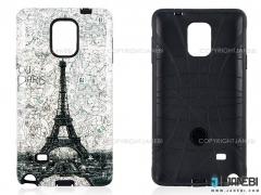 قاب محافظ سامسونگ طرح برج ایفل  Mobile Case Samsung Galaxy Note 4