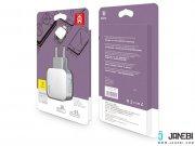 شارژر دو پورت بیسوس Baseus 2.4A ZCL2B-B02 Dual USB Charger