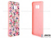 محافظ ژله ای سامسونگ طرح گل داوودی Mobile Case Samsung Galaxy Note 5