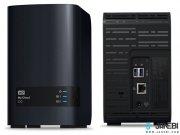 هارد درایو تحت شبکه وسترن دیجیتال 8 ترابایت Western Digital My Cloud EX2 Ultra NAS Hard Drive 8TB