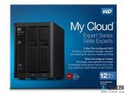 هارد درایو تحت شبکه وسترن دیجیتال 12 ترابایت Western Digital My Cloud EX2100 NAS Hard Drive 12TB