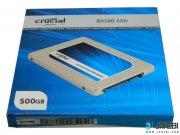 هارد اینترنال ساتا کروشیال Crucial BX100 SSD SATA III 500GB