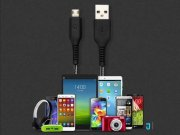 کابل شارژ سریع و انتقال داده TOTU Design Micro USB Fast Charging Cable