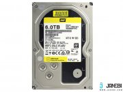 هارد اینترنال وسترن دیجیتال 6 ترابایت Western Digital Gold WD6002FRYZ Internal Hard Drive 6TB