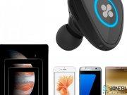 شارژر فندکی و هندزفری بلوتوث پرومیت Promate Aria Mini Wireless Headset And Car Charger