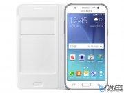فلیپ کاور چرمی سامسونگ Samsung Galaxy J7 Flip Cover