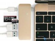 هاب یو اس بی و کارت خوان پرومیت Promate macHub-12 USB 3.1 Type-C And Card Reader