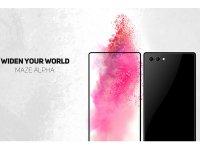 Maze Alpha یک گوشی هوشمند دیگر با صفحه نمایش بدون حاشیه