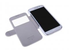 کیف چرمی نیلکین سامسونگ Nillkin Leather Case Samsung Galaxy Mega 5.8