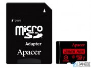 کارت حافظه اپیسر Apacer UHS-I U1 Class 10 85MBps microSDHC With Adapter 128GB
