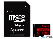 کارت حافظه اپیسر Apacer UHS-I U1 Class 10 85MBps microSDHC With Adapter 8GB