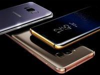 نسخه دارای فریم ساخته شده از طلای گوشی Galaxy S8 عرضه شد