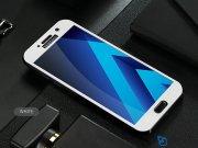 محافظ صفحه نمایش شیشه ای سامسونگ 4D Glass Screen Protector Samsung A7 2017