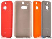محافظ ژلهای سیلیکونی اچ تی سی TT Sborn TPU Case HTC One M8