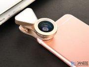 لنز فلاش دار واید و ماکرو گوشی موبایل لی کیو آی LIEQI LQ-035 Flash Light Lens