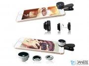 لنز فیش آی و واید و ماکرو گوشی موبایل لی کیو آی LIEQI LQ-028 Photo Lens