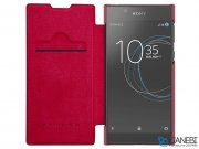 کیف چرمی نیلکین سونی Nillkin Qin Leather Case Sony Xperia L1