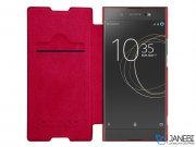 کیف چرمی نیلکین سونی Nillkin Qin Leather Case Sony Xperia XA1
