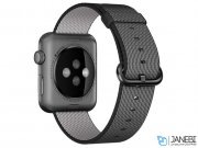 اپل واچ سری 2 مدل Apple Watch 38mm Space Gray Case With Black Woven Nylon Band
