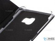 فلیپ کاور چرمی سامسونگ Samsung Galaxy C9 Pro Flip Cover