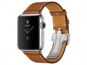 اپل واچ سری 2 مدل Apple Watch 42mm Hermes Fauve Barenia Single Tour Deployment Buckle