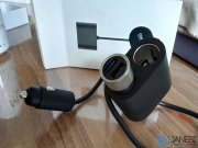 مبدل شارژر فندکی شیائومی Xiaomi Roidmi 1 to 2 Car Charger Adapter DYQ01RM
