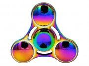 اسپینر فلزی سه پره ای رنگین کمانی طرح دایره ای