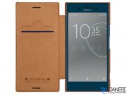 کیف چرمی نیلکین سونی Nillkin Qin Leather Case Sony Xperia XZ Premium