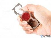 اسپینر فلزی جا کلیدی Fidget Spinner Key Buckle