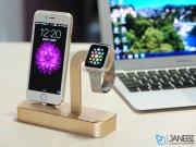پایه شارژ اپل واچ و آیفون Coteetci Apple Watch & iPhone Charge Base