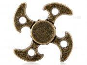 اسپینر فلزی چهار پره ای طرح تبر Fidget Spinner Metal Ax