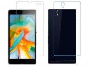 محافظ صفحه نمایش شیشه ای پشت و رو سونی Glass Back And Screen Protector Sony Xperia Z