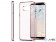 محافظ ژله ای اسپیگن سامسونگ Spigen Liquid Crystal Glitter Case Samsung Galaxy S8