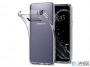 محافظ ژله ای اسپیگن سامسونگ Spigen Liquid Crystal Case Samsung Galaxy S8 Plus