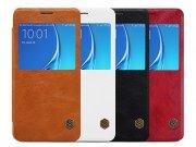 کیف چرمی نیلکین سامسونگ Nillkin Qin Leather Case Samsung Galaxy J7 2016